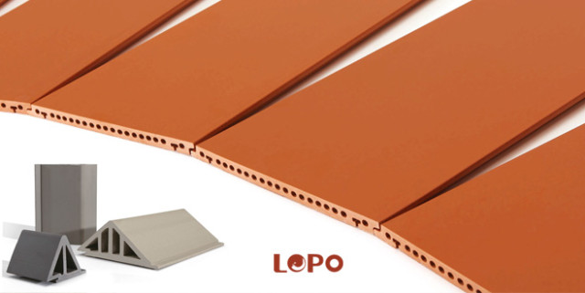 LOPO Terracotta Rainscreeen Panels Factory