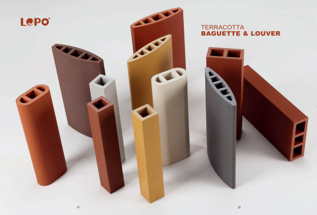 LOPO China—the best solution for Terracotta Wall Panel decoration