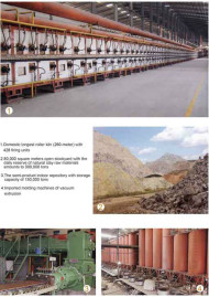 テラコッタパネルの背景とLOPOテラコッタ工場