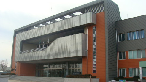 Application of Terracotta Panel Curtain Wall