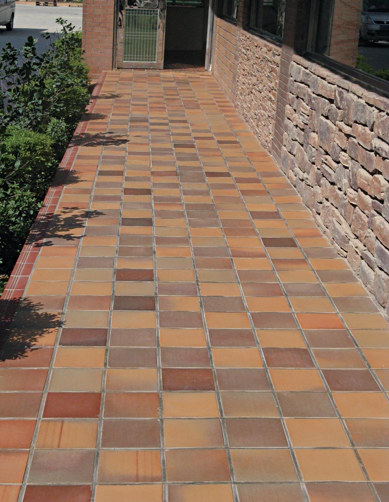 terracotta floor floors doors interior design