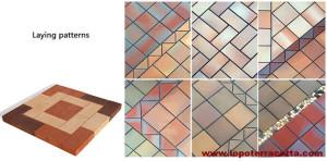 Terracotta Brick Paver