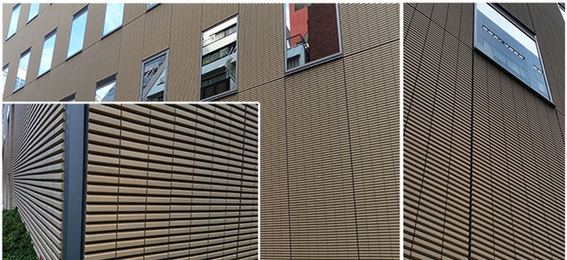 Precast Concrete Panel With Brick : Faced precast concrete lopo clay thin brick