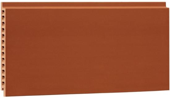 Plain surface terracotta panel