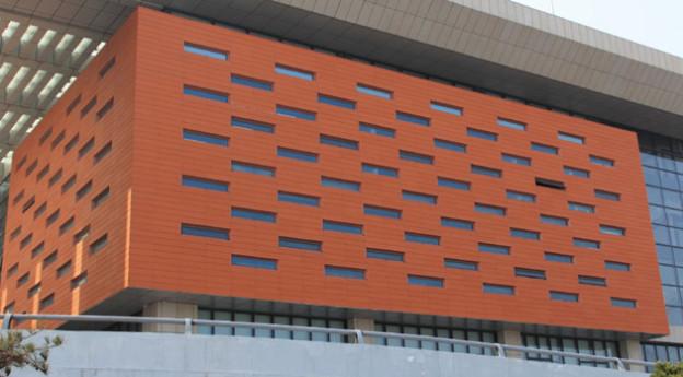 LOPO Terracotta Rainscreen Cladding Project – Shandong Weihai North Station