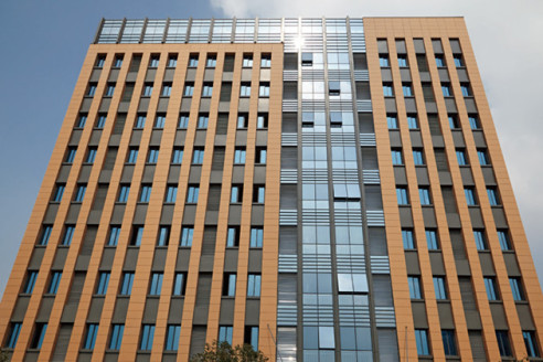 Terracotta Rainscreen Project - Hangzhou Daming Government Building