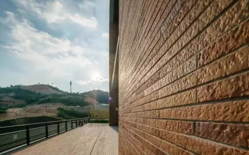 LOPO Terracotta Wall Tile Project - Huarun University South Campus
