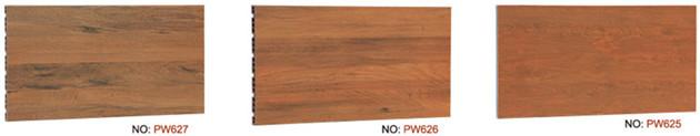 Holz-Optik-Terrakotta-Platte
