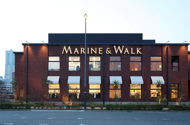 Clay Tiles Project in Japan--- Marine & Walk Yokohama