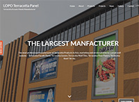 New website of LOPO Terracotta Corporation